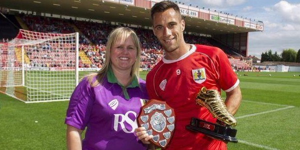 Marie Day, Sam Baldock and golden boot