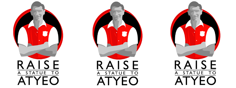 Raise a statue to Atyeo