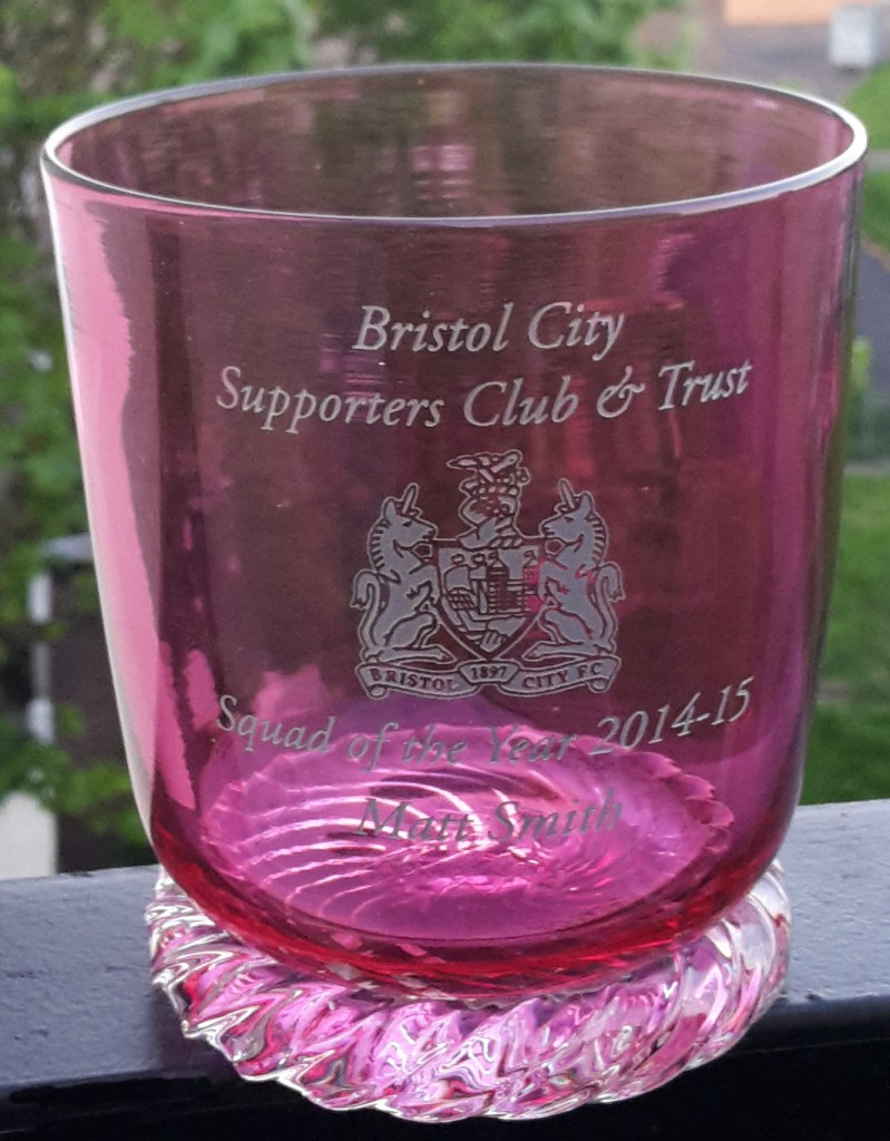 Bristol Red Glass tumbler